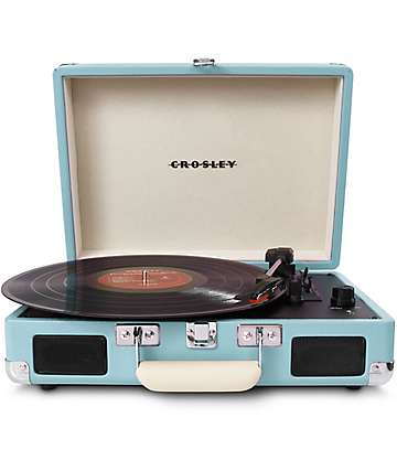 Crosley Cruiser Portable Turquoise Turntable