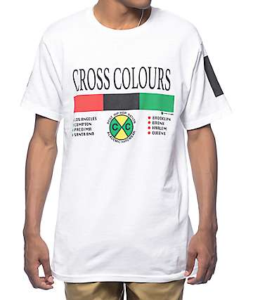 Cross Colours City White T-Shirt