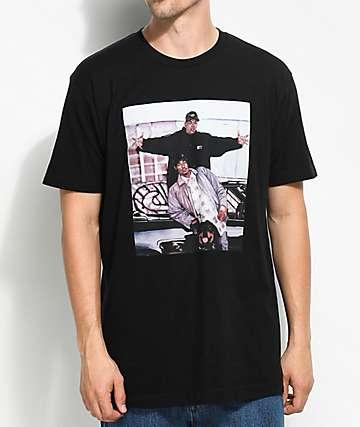 Cross Colours Dre & Snoop Legends camiseta negra