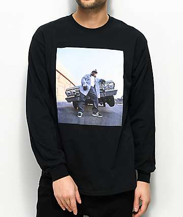Cross Colours Eazy-E Black Long Sleeve T-Shirt