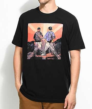 Cross Colours Kris camiseta negra