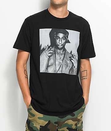 Cross Colours Pac Legends camiseta negra