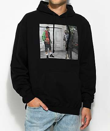 Cross Colours Prince Legends Black Hoodie