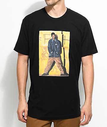 Cross Colours Snoop camiseta negra