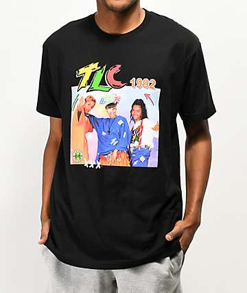 Cross Colours TLC Black T-Shirt