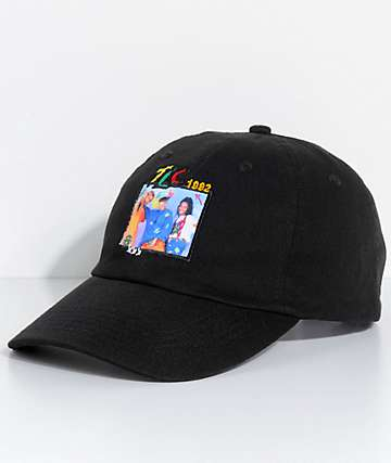 Cross Colours TLC Group Photo Black Strapback Hat