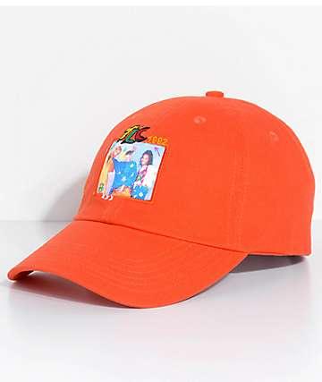 Cross Colours TLC Group Photo gorra strapback en color naranja