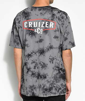 Cruizer & Co. Badge Black Wash T-Shirt