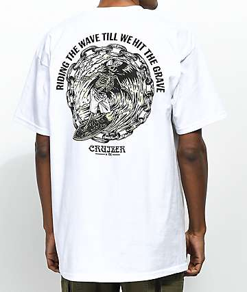 Cruizer Surf White T-Shirt