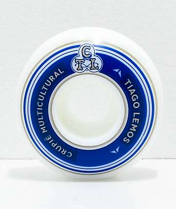 Crupie Tiago Lemos Logo 53mm 101a Skateboard Wheels