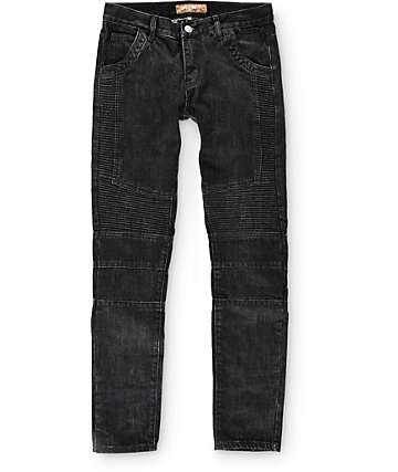 Crysp Jordan Moto Slim Fit Jeans