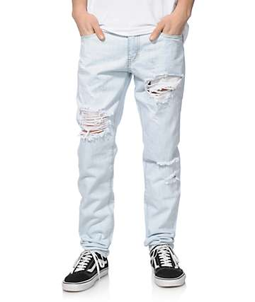 Crysp Strawberry Ripped Jeans