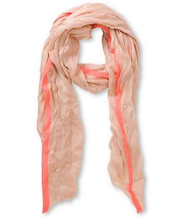 D&Y Neon Pink Stripe Scarf