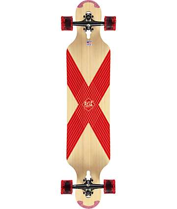 "DB CoreFlex Compound Flex 2 42""  Drop Through Longboard Complete"