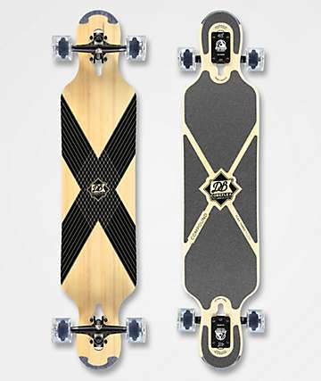 "DB CoreFlex Compound Flex 3 42"" Drop Through Longboard completo"