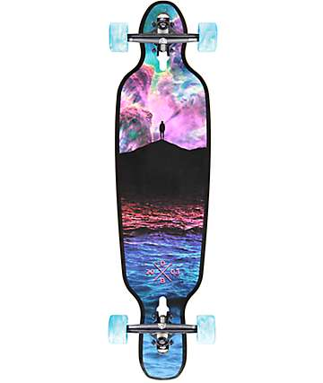 "DB Galaxy 36"" drop through long board completo"