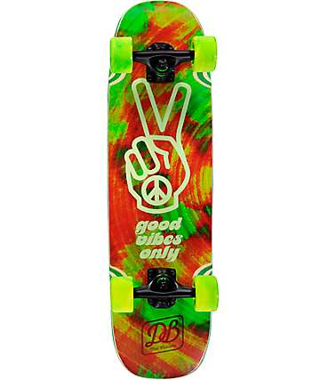 "DB Good Vibes 28.75"" Mini Cruiser Complete Skateboard"