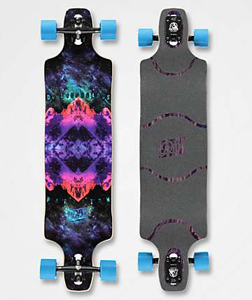 "DB Paradigm 41""  Drop Through Longboard Complete"