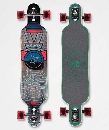 "DB Pioneer 40"" Drop Through Longboard Complete"