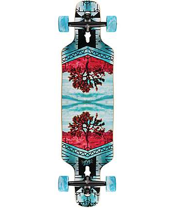 "DB Vantage 36"" Drop Through Longboard Complete"