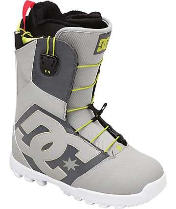 DC Avaris Grey Snowboard Boots