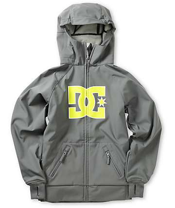DC Boys Spectrum K Grey 10K Snowboard Jacket