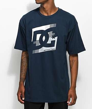 DC Cascade camiseta azul