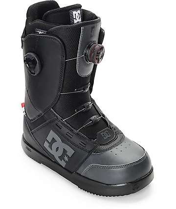 DC Control Black Boa Snowboard Boots
