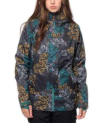 DC Data 15 Rose Camo 10K Snowboard Jacket