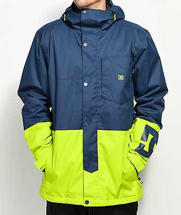 DC Defy Insignia Blue 10K Snowboard Jacket