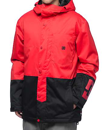 DC Defy Racing Red 10K chaqueta de snowboard
