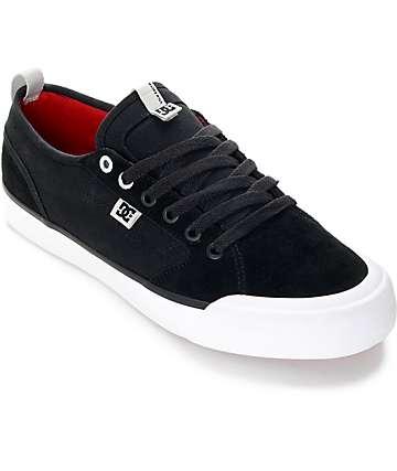 DC Evan Smith S zapatos de skate en blanco y negro