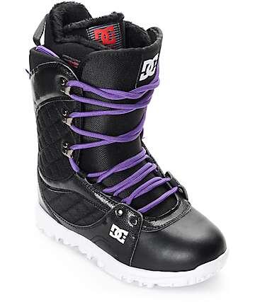 DC Karma botas negras de snowboard para mujeres