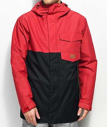DC Merchant Chili Pepper Black 10K Snowboard Jacket
