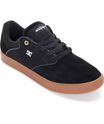 DC Mikey Taylor Black & Gum Skate Shoes