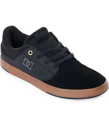 DC Plaza TC zapatos de skate en negro y goma