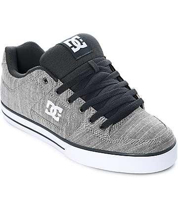 DC Pure TX SE zapatos de skate en gris claro