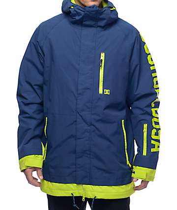 DC Ripley 10K Navy Snowboard Jacket