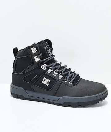 DC Spartan High WR botas en negro y gris