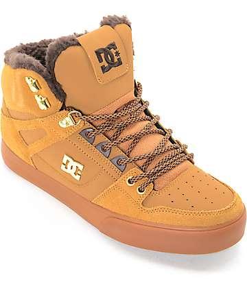DC Spartan High zapatos en colores goma y crema