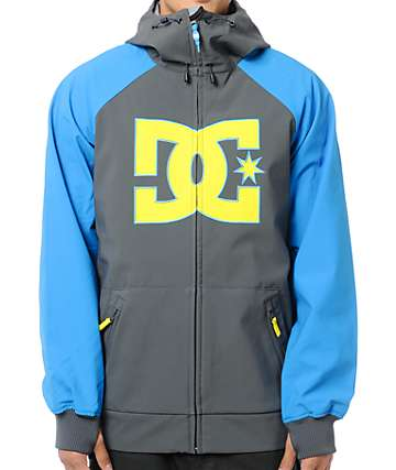 DC Spectrum 10K Grey Snowboard Jacket