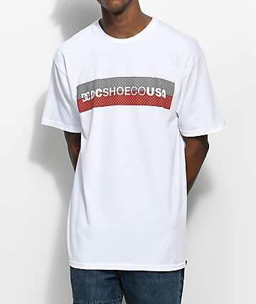 DC Transition camiseta blanca