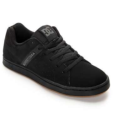 DC Wage zapatos negros de skate