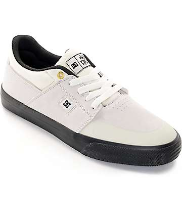 DC Wes Kremer S SE White & Black Skate Shoes
