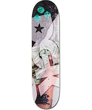 "DGK Against All Odds 8.06"" Skateboard Deck"