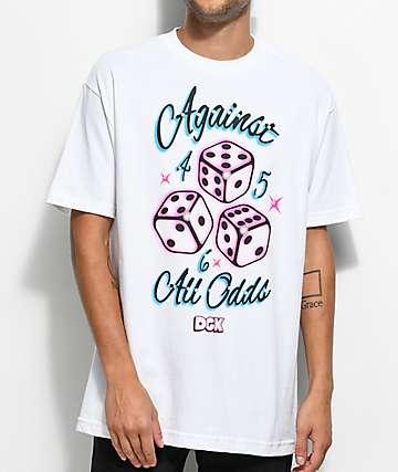 DGK Against All Odds White T-Shirt