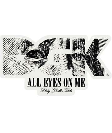 DGK All Eyes Sticker
