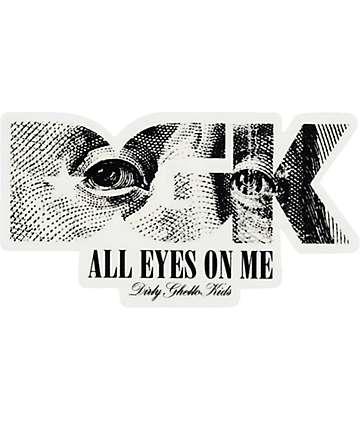 DGK All Eyes Sticker