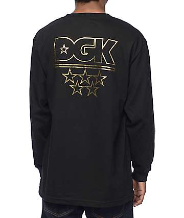 DGK All-Star Black Long Sleeve T-Shirt