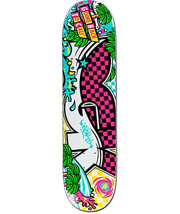 "DGK Back To Cali 7.80"" Skateboard Deck"